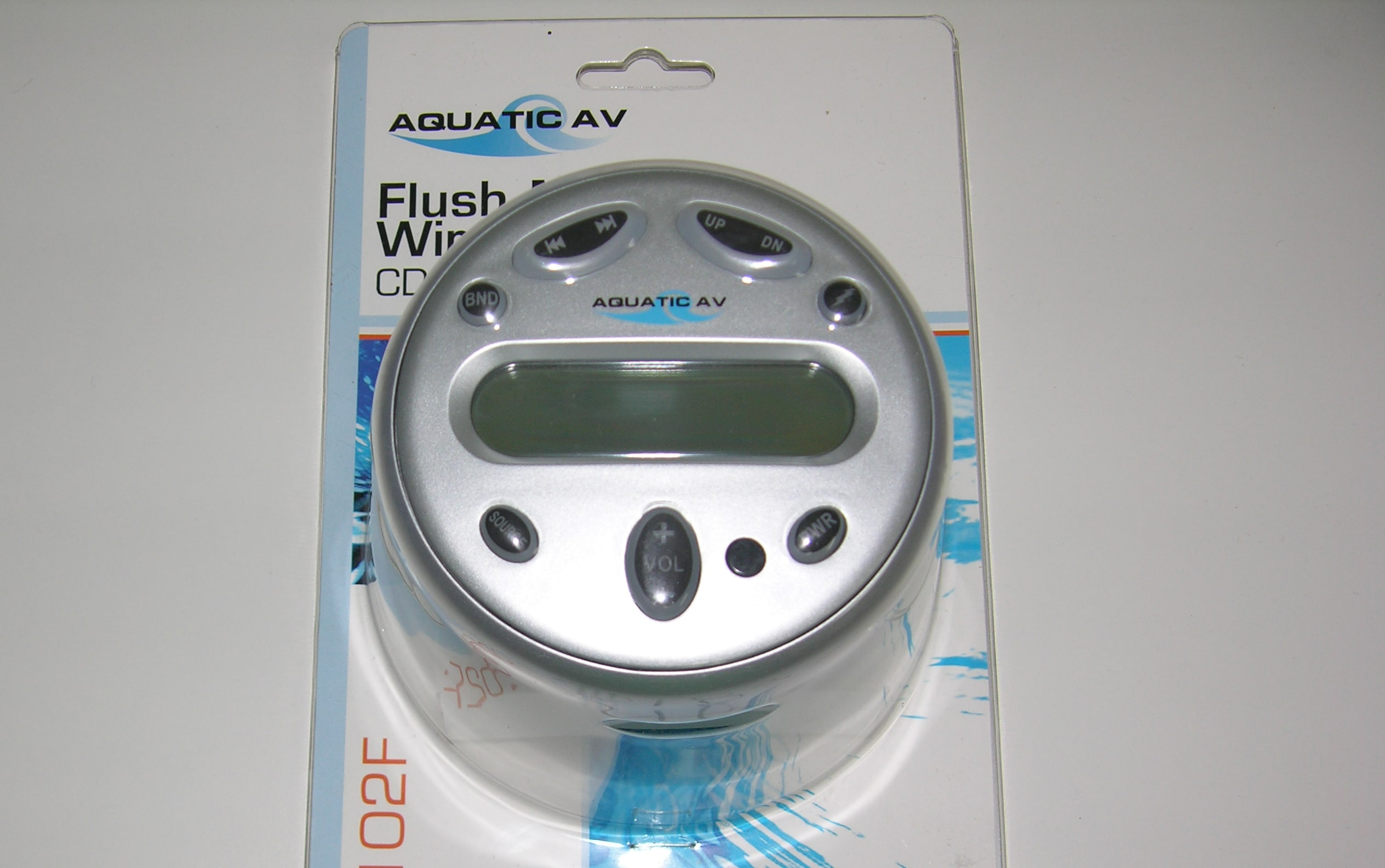 Remote- Keypad Flush Mount Cd Player