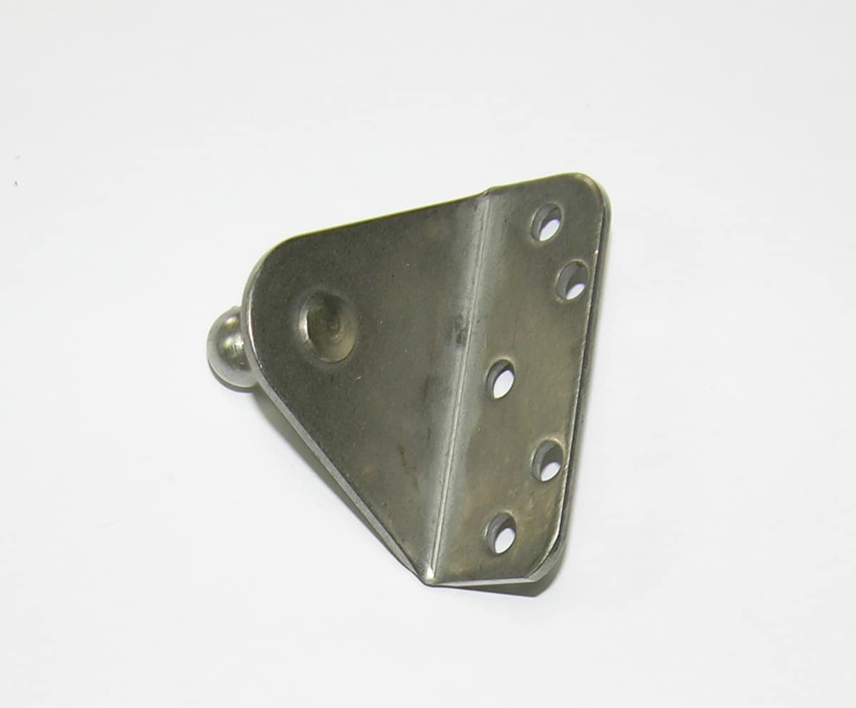 Bracket Flat w/10mm Ball Stud for Gas Spring 00282