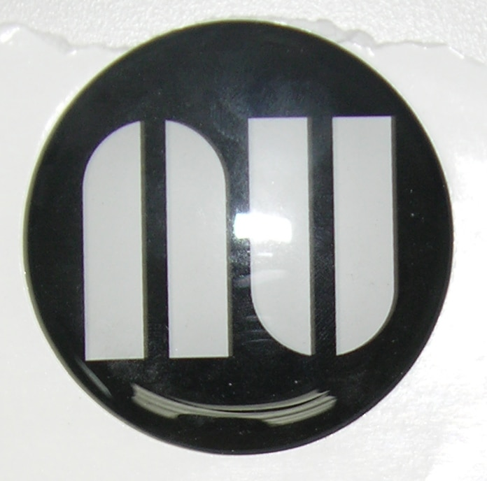 NU Logo Round - Steering Wheel Logo