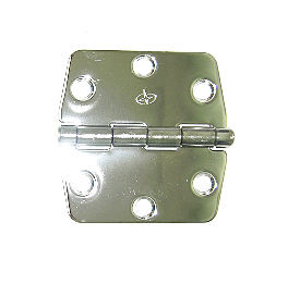"Hinge 3"" X 3"" Stainless Steel Rounded Conners"