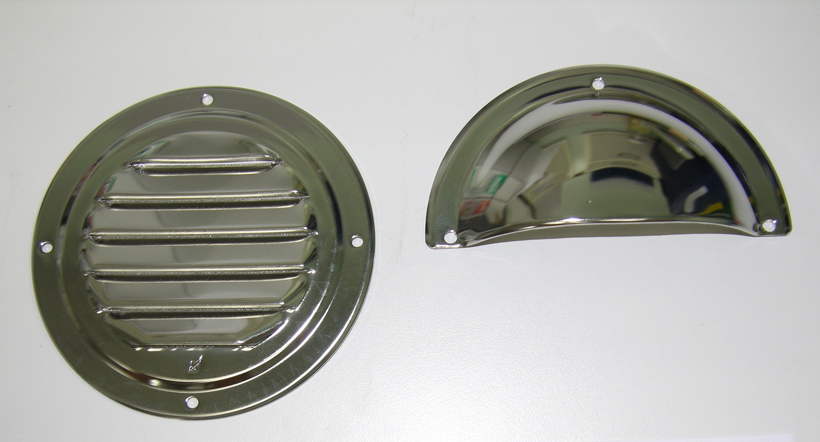 "Vent- Louvered Kit Round 4"" S.S."