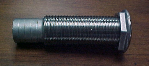 "Fitting- Thru hull, 316 SS, 1-1/8"" x 3-1/4"", 1"""