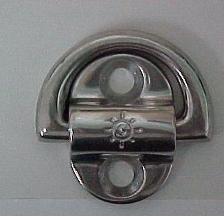 Pad Eyes- Point Sml/ Towing & Lifting Eye 6mm x 1/4