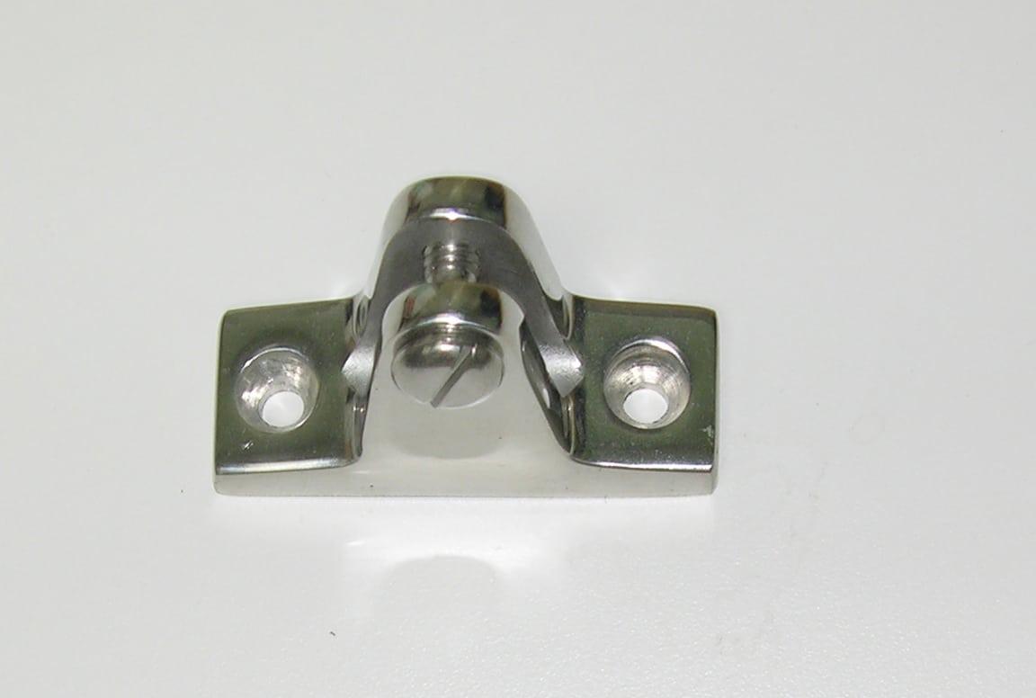 Hinge- Deck Angled for Bimini Top