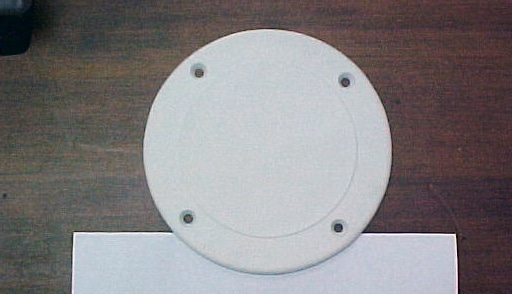 "Inspection cover plate- 5-5/8"" -WHITE"