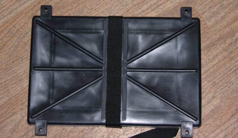 Battery Holder Tray for Group #24 W/Poly Strap