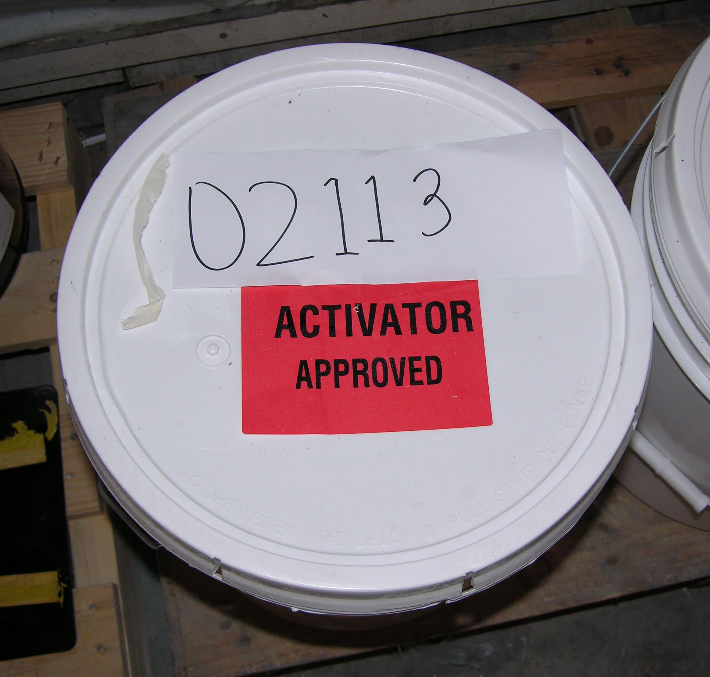 Plexus- Activator (5 gal pail) - 50# per 5 gal pail