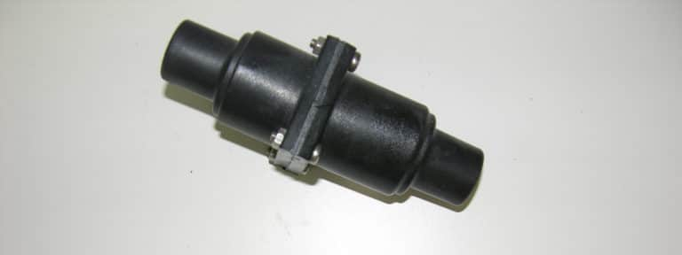 Fitting- Check Valve Inline Plastic 1″ or 1-1/2″