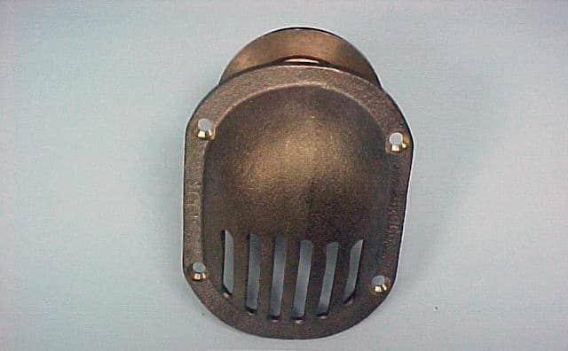 Fitting, Thru-Hull W/Nut Bronze Scoop
