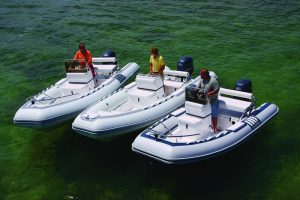 Three Novurania Luxury Yacht Tenders