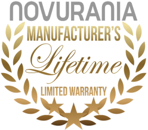 Novurania lifetime warranty